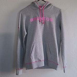 Nike NFL Denver Broncos Breast Cancer Hoodie L